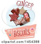 Ginger Biscuits Cookie Design