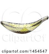 Poster, Art Print Of Sketched Banana