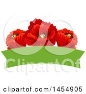 April 25th, 2017: Clipart Of A Red Poppy Flower Design Element Royalty Free Vector Illustration by Vector Tradition SM