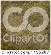 Clipart Of A Wrinkled Vintage Wallpaper Texture Background Royalty Free Illustration by KJ Pargeter