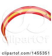 Poster, Art Print Of Spanish Flag Banner Design Element