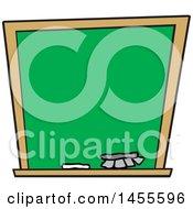 Poster, Art Print Of Cartoon Blank Chalkboard