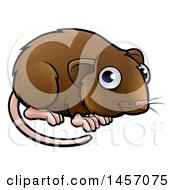 Clipart Of A Cartoon Cute Vole Royalty Free Vector Illustration by AtStockIllustration