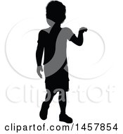 Black Silhouetted Boy