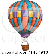 Sketched Hot Air Balloon