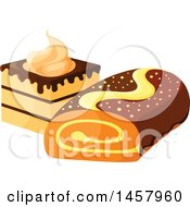 Cake And Roll Design