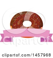 Donut Label Design