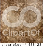 Background Pattern Of Aged Damask Wallpaper