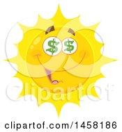 Poster, Art Print Of Greedy Sun Mascot