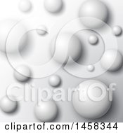 Clipart Of A Sphere Background Royalty Free Vector Illustration by KJ Pargeter
