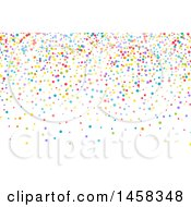Clipart Of A Colorful Party Confetti Background Royalty Free Vector Illustration