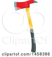 May 23rd, 2017: Clipart Of A Fireman Axe Royalty Free Vector Illustration by Vector Tradition SM
