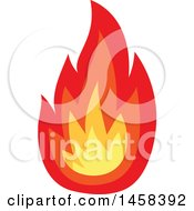 May 23rd, 2017: Clipart Of A Fire Royalty Free Vector Illustration by Vector Tradition SM
