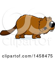 May 24th, 2017: Clipart Of A Howling Beaver Royalty Free Vector Illustration by Cory Thoman