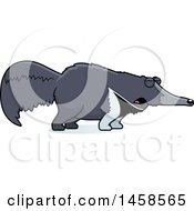 Clipart Of A Howling Anteater Royalty Free Vector Illustration