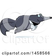 Happy Anteater Jumping