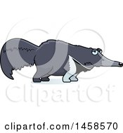 Clipart Of A Sad Or Depressed Anteater Royalty Free Vector Illustration