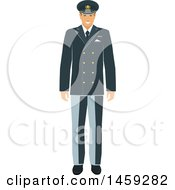 Clipart Of A Military Man Royalty Free Vector Illustration by Vector Tradition SM