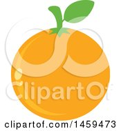 Clipart Of A Navel Orange Fruit Royalty Free Vector Illustration by Hit Toon