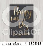 Clipart Of A Happy Fathers Day Love Your Dad Design Royalty Free Vector Illustration by KJ Pargeter
