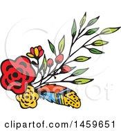 Spring Or Summer Flower Design Element