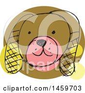 Sketched Dog Face