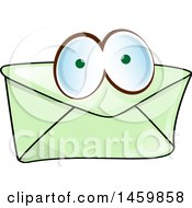 Cartoon Envelope Character