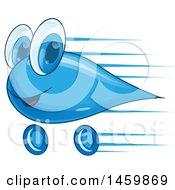 Car Wash Water Drop Mascot