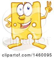Cartoon Cheese Mascot