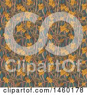 Poster, Art Print Of Background Of A Forest Pattern