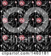 Background Of Art Nouveau Flowers