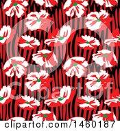 Poster, Art Print Of Background Of Poppy Flowers