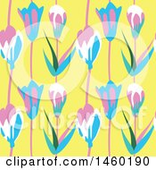 Background Of Tulip Flowers