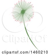 Poster, Art Print Of Pink And Green Flower