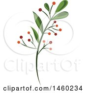 Poster, Art Print Of Branch With Berries