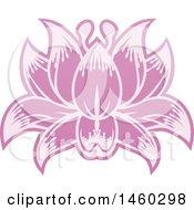 Poster, Art Print Of Purple Blooming Flower