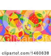 June 22nd, 2017: Clipart Of A Seamless Colorful Background Of Fruit Royalty Free Vector Illustration by BNP Design Studio