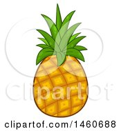 June 23rd, 2017: Clipart Of A Pineapple Royalty Free Vector Illustration by Hit Toon