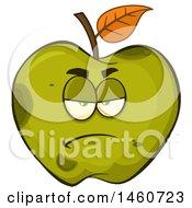 Grumpy Green Apple