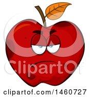 Grumpy Red Apple