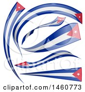 June 24th, 2017: Clipart Of Cuban Flag Design Elements Royalty Free Vector Illustration by Domenico Condello