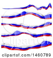 June 24th, 2017: Clipart Of Russian Flag Banners Royalty Free Vector Illustration by Domenico Condello