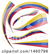 June 24th, 2017: Clipart Of Venezuela Flag Banners Royalty Free Vector Illustration by Domenico Condello