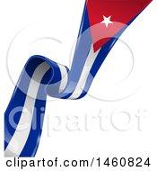 Poster, Art Print Of Diagonal Cuban Flag