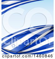 Poster, Art Print Of Israel Flag Background