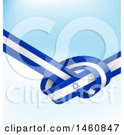 June 25th, 2017: Clipart Of An Israel Flag Background Royalty Free Vector Illustration by Domenico Condello
