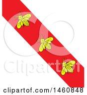 Poster, Art Print Of Isola Di Elba Flag Background