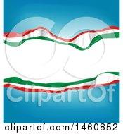 Poster, Art Print Of Italian Flag Background