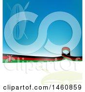 Kenyan Flag Background