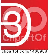 Clipart Of A 3d Design Royalty Free Vector Illustration